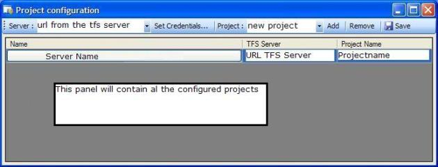 Configure projects
