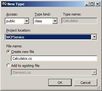 Enter class information
